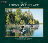 Loons On The Lake - 2013 Wall Calendar