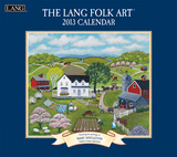 Lang Folk Art - 2013 Wall Calendar Calendars