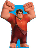 Wreck-It Ralph - Disney's Wreck-It Ralph Movie Lifesize Standup Poster Stand Up