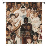 Golden Rule Wall Tapestry