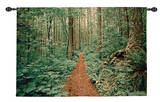 Forest Trail Wall Tapestry