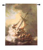 The Storm on the Sea of Galilee Wall Tapestry