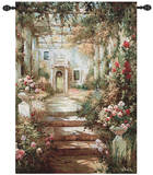 Summer Pergola Wall Tapestry