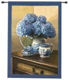 Blue Willow Wall Tapestry