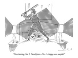 """Now batting, No. 2, Derek Jeter—No. 2. Happy now, nutjob?""  - New Yorker Cartoon ""I'll trade you a Jeter and a Bonds for a Hikmat al-Azzawi."" - New Yorker Cartoon ""With the Jeter 2000, you'll never have to say goodbye."" - New Yorker Cartoon President George W. Bush Derek Jeter before the First Pitch in Game 3 of the World Series MLB Superstars 2012 New York Yankees SS Derek Jeter - March 29, 2010 Derek Jeter Bows Out - The New Yorker Cover, September 8, 2014 New York Yankees SS Derek Jeter - October 6, 2006 derek+jeter"