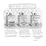 Boutique Gasolines - New Yorker Cartoon