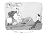 """Well, how long do you want to live?"" - New Yorker Cartoon"