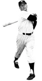 Mickey Mantle New York Yankees Lifesize Standup Poster