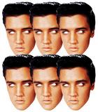 Elvis Presley TCB 6pk-Face Masks Mask