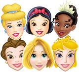 Disney Princesses 6pk-Face Masks Mask