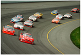 2001 KMart 400 NASCAR Archival Photo Poster