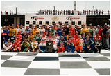 NASCAR 50th Anniversary Drivers Archival Photo Poster