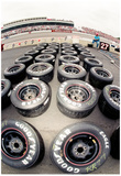 NASCAR Tires Archival Photo Poster