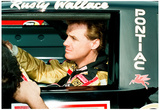 Rusty Wallace Cockpit Archival Photo Poster