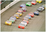 Pepsi 400 NASCAR Race 1999 Archival Photo Poster