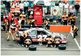 Rusty Wallace Pit Stop Archival Photo Poster