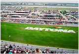Daytona 500 Archival Photo Poster