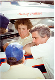 Rusty Wallace 1980 Archival Photo Poster