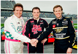 Rusty, Kenny and Mike Wallace 1993 Daytona 500 Archival Photo Poster
