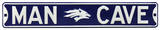 Man Cave Nevada Wolfpack Steel Sign