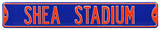 Shea Stadium Blue Steel Sign