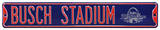 Busch Stadium Navy All Star 2009 Steel Sign