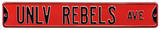 UNLV Rebels Ave Steel Sign