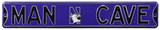 Man Cave Northwestern Wildcats Steel Sign