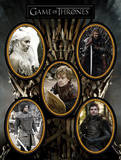 Game Of Thrones - Character Magnet Set Magnet