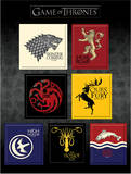 Game Of Thrones - House Sigil Magnet Set