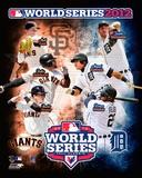 San Francisco Giants vs. Detroit Tigers World Series Match-up Composite