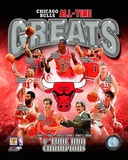 Chicago Bulls All-Time Greats Composite