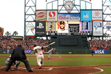 San Francisco, CA - Oct. 24:   Giants v Detroit Tigers - Pablo Sandoval  and Justin Verlander