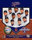 Detroit Tigers 2012 American League Champions Composite