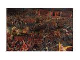 Die Schlacht Bei Issus 333 V.Chr. (Alexanderschlacht), 1529. Detail