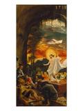 Resurrection of Christ (Exterior Panel of the Predella of the Sebastian Altarpiece), 1518