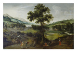 Landscape with Staffage , 1575