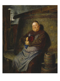 Brother Master Brewer in the Beer Cellar, 1902 Giclee Print