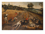 Summer: Harvesters Working and Eating in a Cornfield, 1624