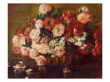 Buy Still-Life with Peonies, 1872 at AllPosters.com