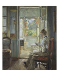 Woman Sitting by a French Window, 1902