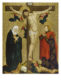 Christ on the Cross with Mary and St. John, about 1450/60