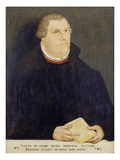 Portrait of Martin Luther, 1568