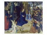 The Portinari Altarpiece. Central Panel: the Adoration of the Shepherds