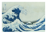 The Great Wave of Kanagawa, 1831