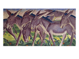 Frieze of Donkeys, 1911