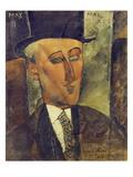Portrait of Max Jacob, 1916