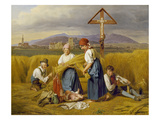 Harvest (Near Zell Am See), 1846/47