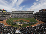 Oakland Raiders - Sept 23, 2012: Oakland Coliseum