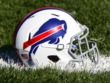 Buffalo Bills - July 27, 2012: Buffalo Bills Helmet